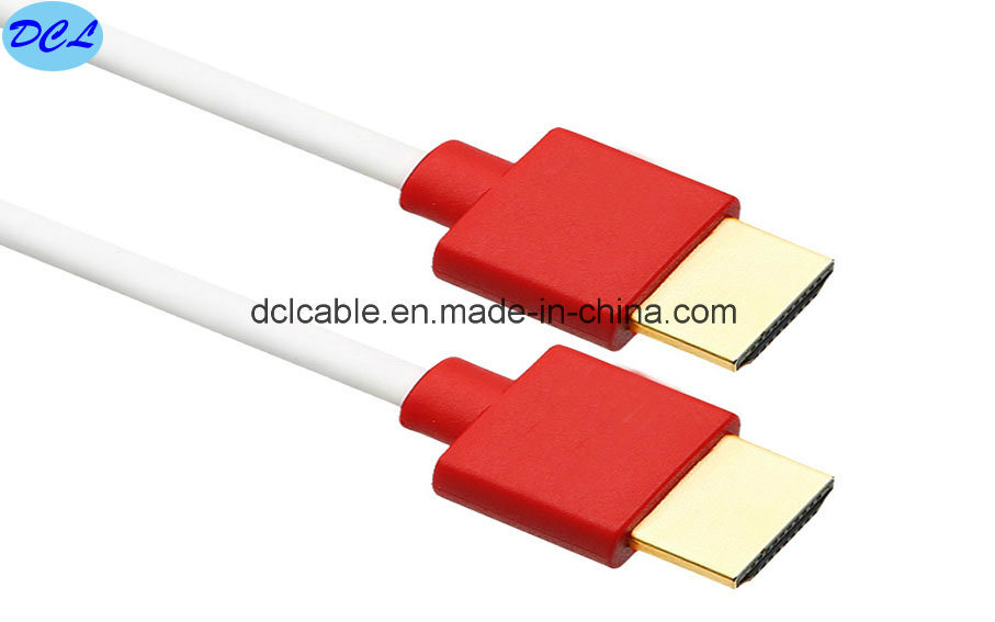 1.4V Slim HDMI Cable Gold Plated