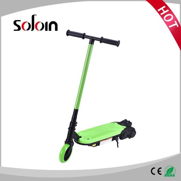 2 Wheel Mini Foldable PU/PVC Tire Electric Kick Motor Scooter for Children (SZE80S-1)