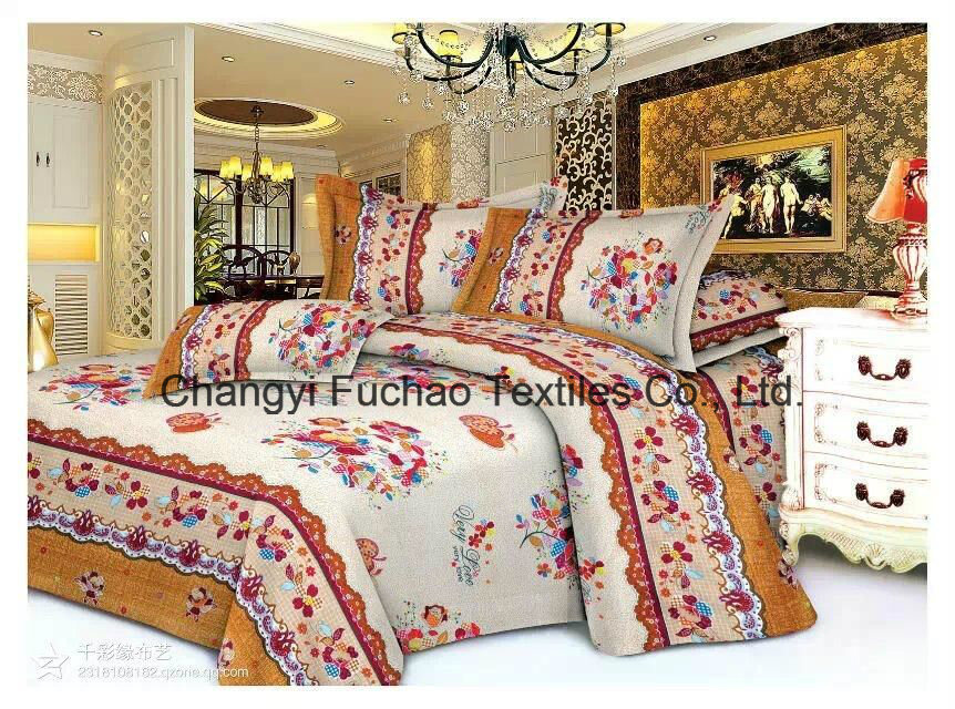 New Elegant Bedding Set King Size 4PC Microfiber Super Soft Life