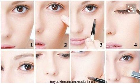 3D Five Colors Concealer Face Makeup Bronzer Makeup Foundation Cream
