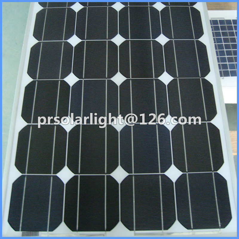 80W High Efficiency Mono Renewable Energy Saving Flexible Solar Panel