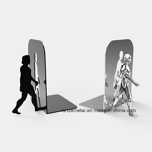 Cool Design Stainless Steel Metal Ultimate Evolution Bookend