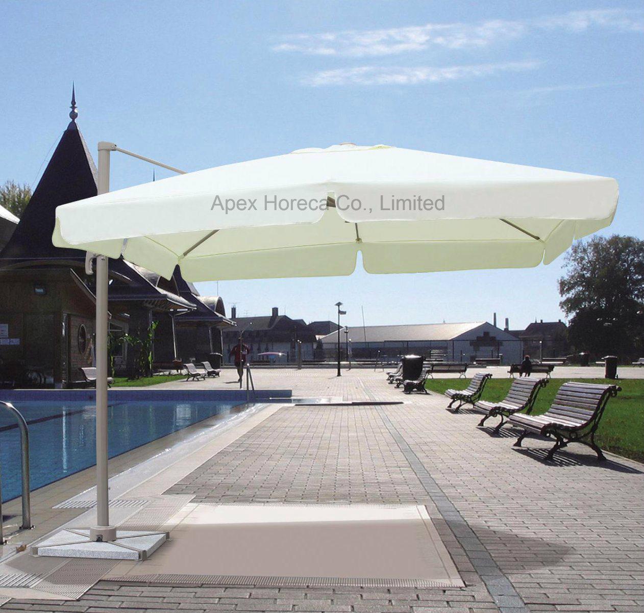Roma Umbrella Roman Alum Parasol Rotating Umbrella Outdoor Sunshade