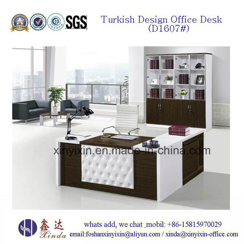 Turkish Design Office Furniture Modern Executive Office Desk (D1607#)