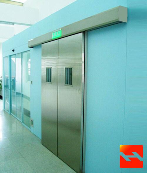 China Airtight Hospital Door, Automatic Sliding Door Kit, Operating Theatre Door Supplier (HF-J666)