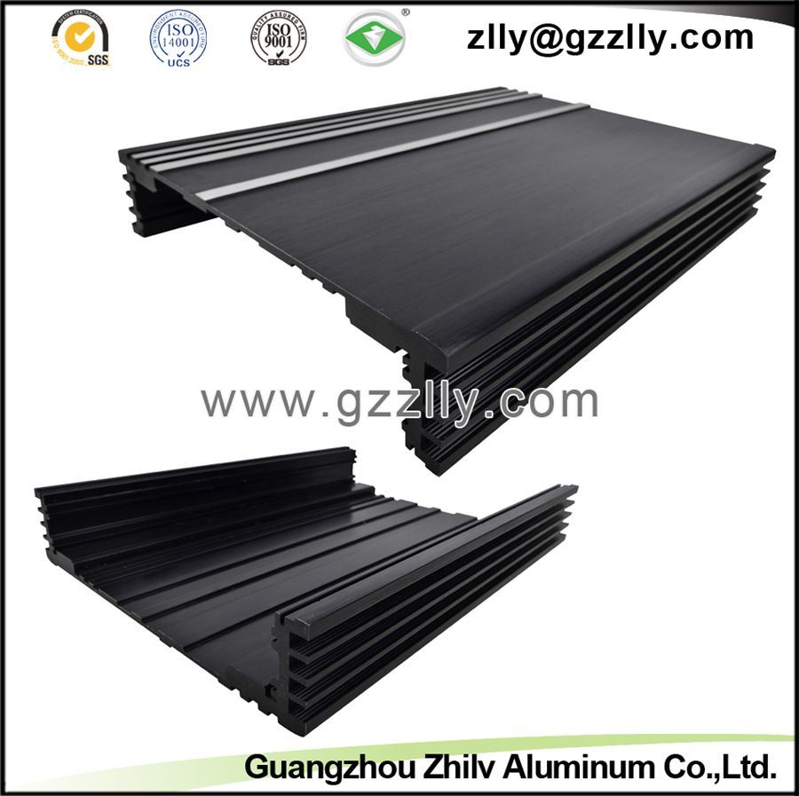 Casting Aluminum Extrusion Radiator for Car Audio Equipment