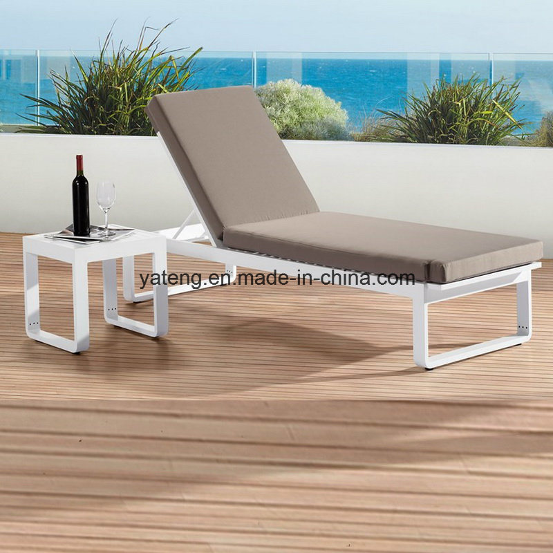 Top Quality New Design Outdoor Patio Sun Lounge Aluminum Lounge Using Garden & Pool Side /Sea Side