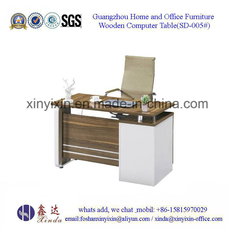 China Wooden Furniture Melamine Staff Office Desk (MT-2424#)