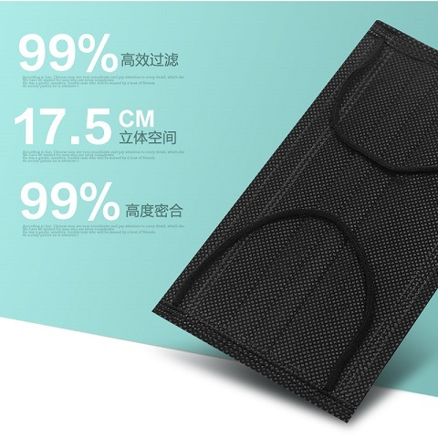 Manufacter Surgical Non-Woven 4-Ply Activated Carbon Face Masks