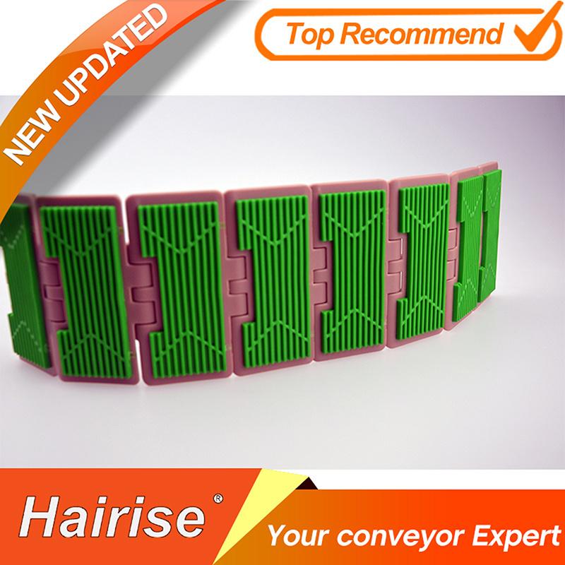 Hf 820 Straight Running Single Hinge Rubber Top Chains (FliteTOP)