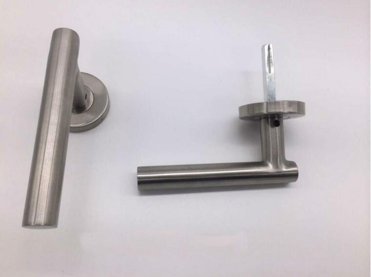 Stainles Steel Tube Level Door Handle (RL001)