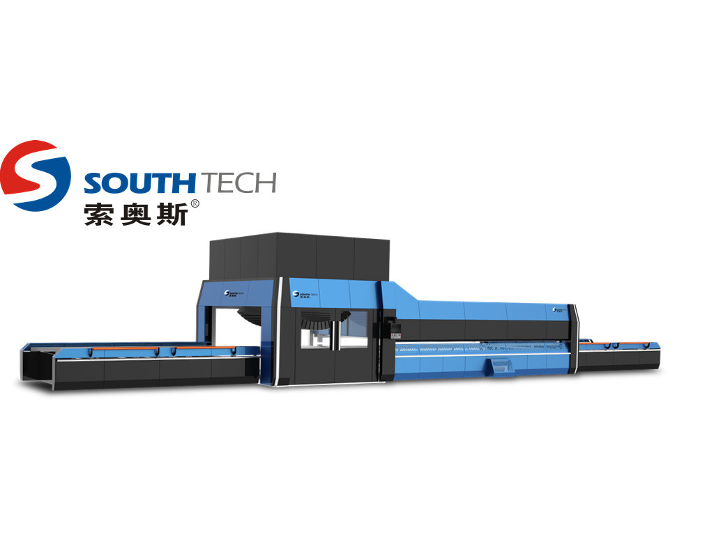 Southtech Bending Tempered Building Glass Making Machine