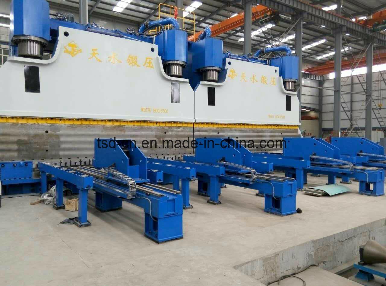 CNC Hydraulic Press Brake in Tandem/Double Bending Machine (2-WE67K-1600/6000)