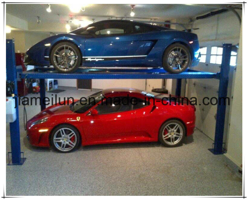 Four Post Home Car Hoist Parking Lift