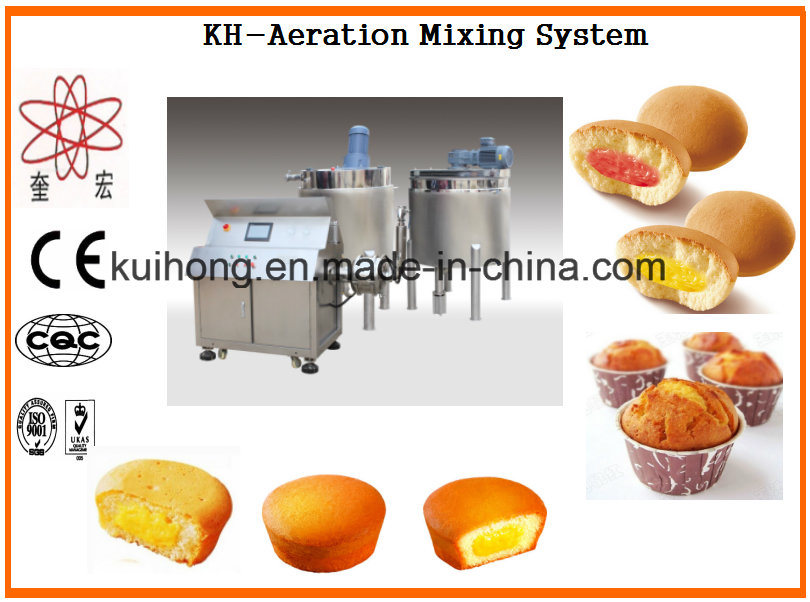 Kh Ce Approved Cake Aeratioin Mixer