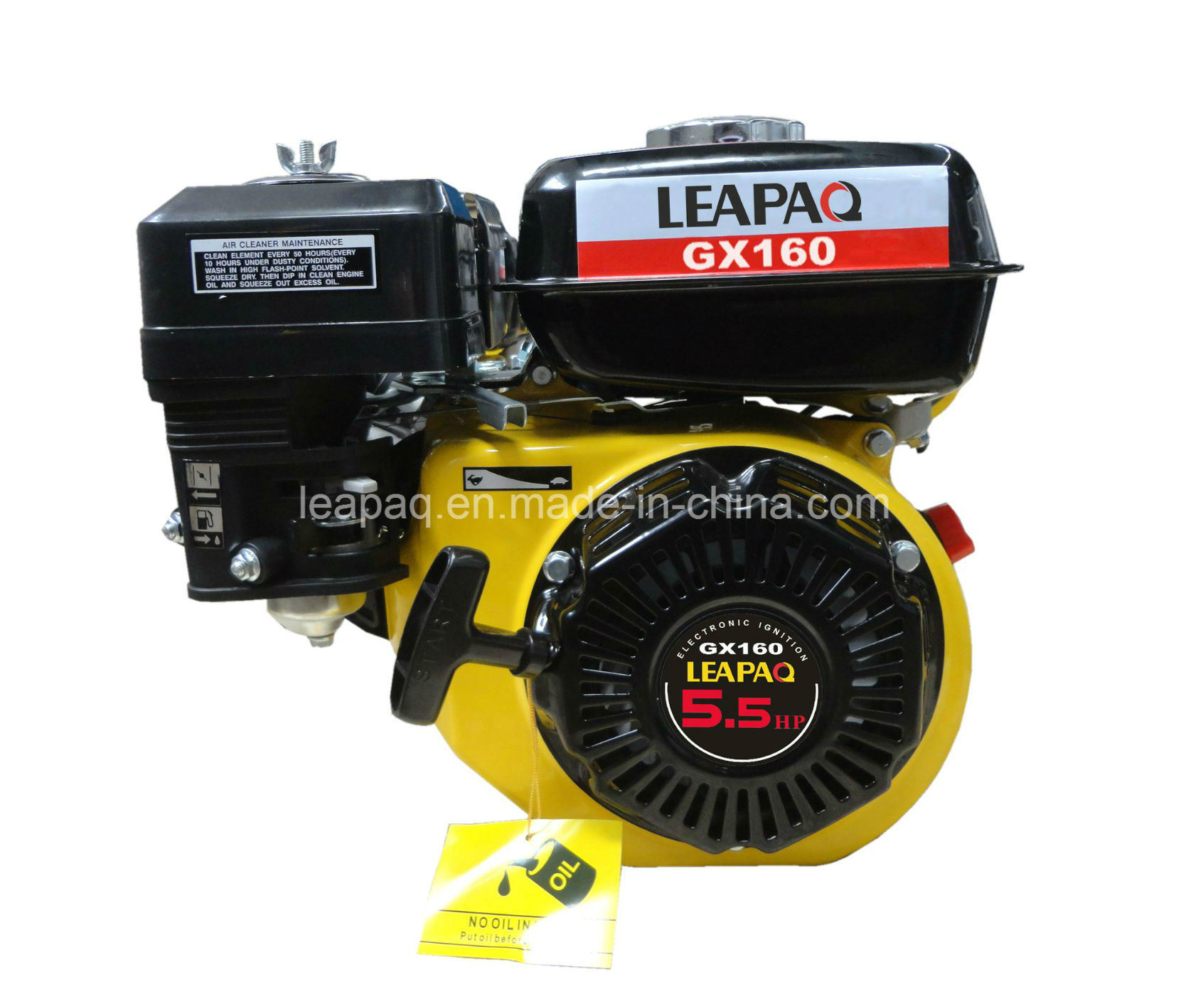 5.5HP 4-Stroke Single Cylinder Ohv Gasoline Engine