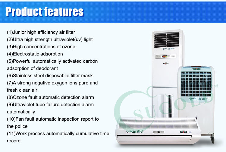 Dynamic Air Disinfector