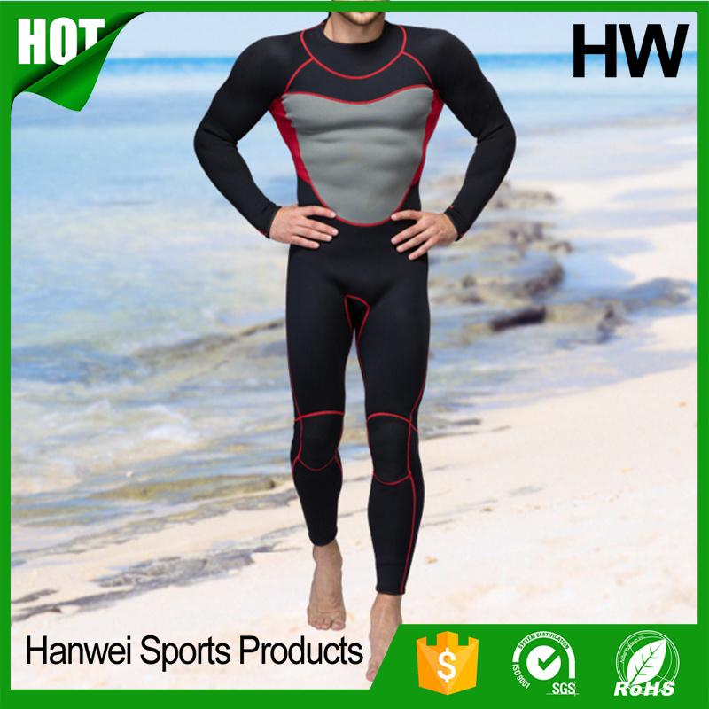 2017 Newest Style Neoprene Long Sleeve Wetsuits (HW-W006)