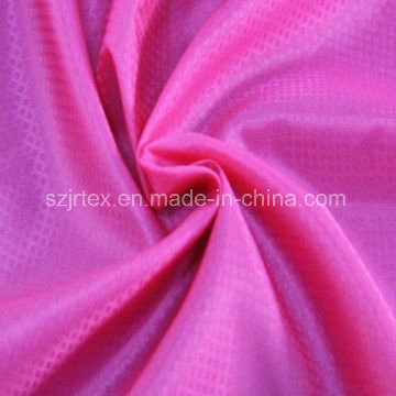100% Nylon Downproof Grid Fabric for Garment