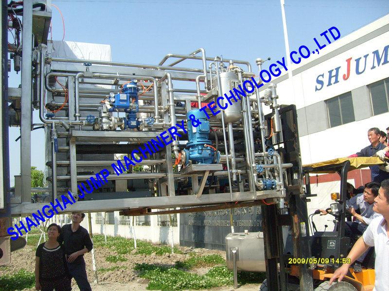 Multi-Layer Fruit Puree Tubular Sterilizer/ Tube in Tube Fruit Pulp Sterilizer/Post Pasteurizer for Fruit Jam