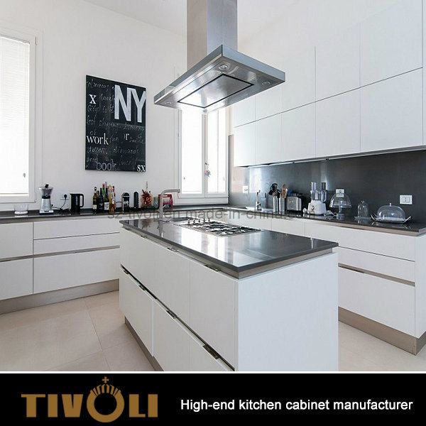 New Glossy Customized Modular Wood Kitchen Cabinet