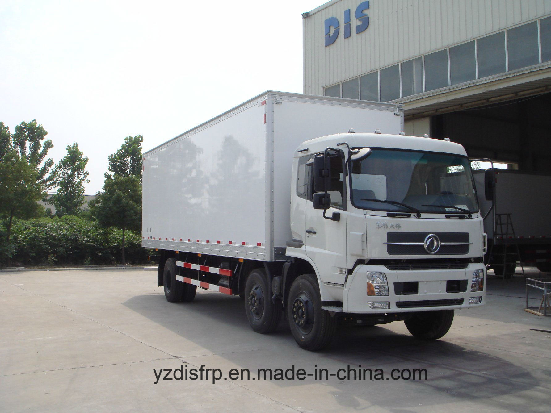 Easily Cleanable FRP Dry Truck Body for Logistics