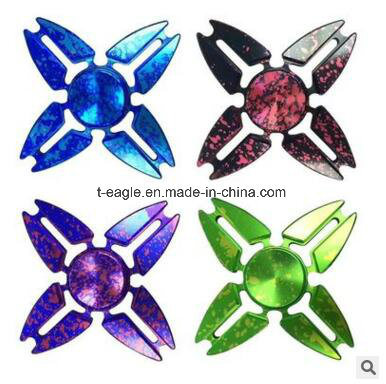 Sky Four Corners Crab Colorful Hand Spinner Gyro Four Leaf Colorful Fidget Spinner
