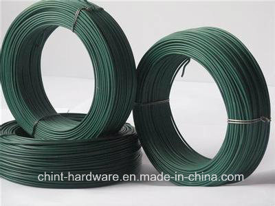 PVC&PE Coated Iron Wire, Many Colors for Choosing
