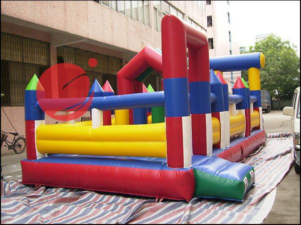 2017 Inflatable Funcity Inflatable Amusement Park Inflatable Kids Park (T6-414)