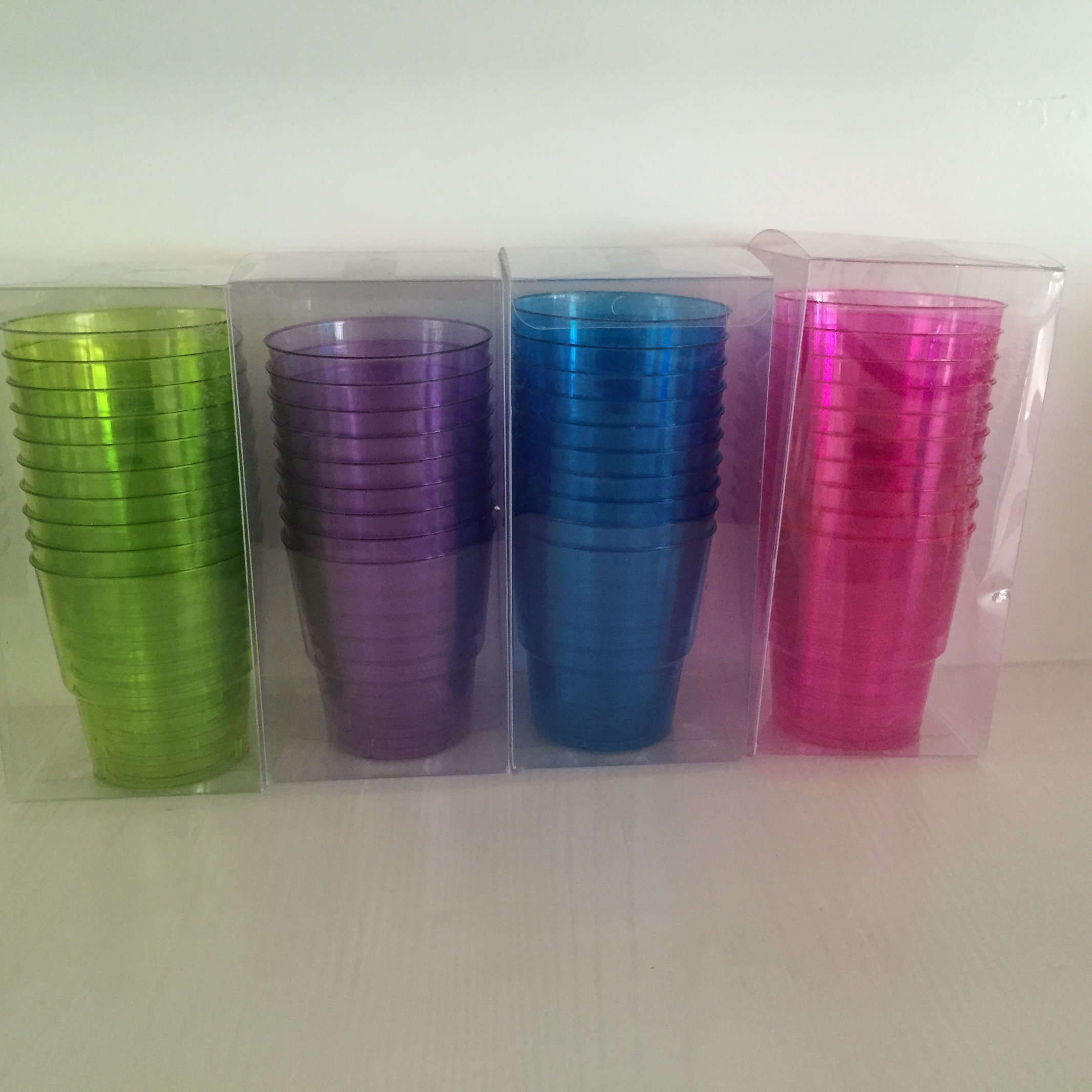 Plastic Cup, Glass, Mug, Tableware, PS, Transparent, Disposable, Clear, Colorful Cup