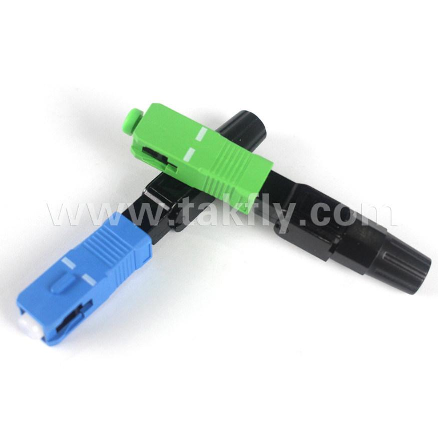 FTTH Sc/APC Quick Connector Sc Fiber Optic Fast Connector