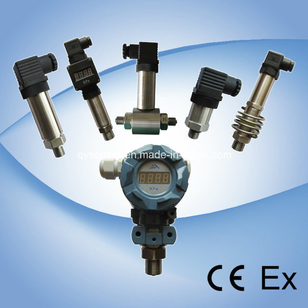 Smart Pressure Transmitters Qzp-S6 for High Temperature of (-30º C~150º C) Gas and Liquids
