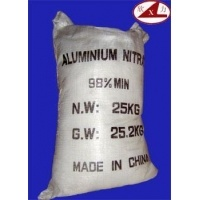 Colorless Crystal 98%Aluminum Nitrate (Al(NO3)3) for Industry
