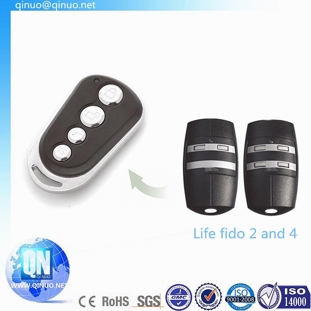 Life Fido 2 and Fido 4 Garage Door Remote Control