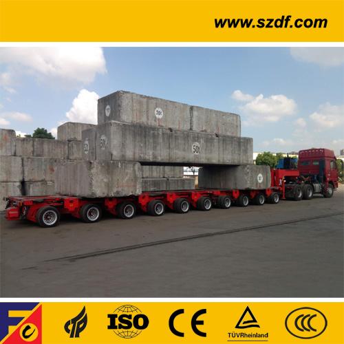 Ultra Low Platform Hydraulic Modular Trailer /Ultra Low Platform Hydraulic Modular Transporter /Spmt (SPT)