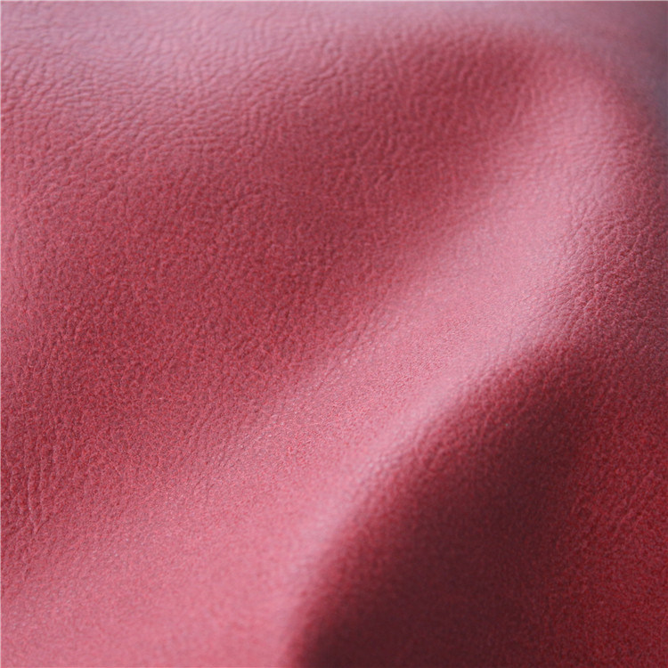 China Embossed Semi PU Leather Synthetic Leather Home Textile (807#)