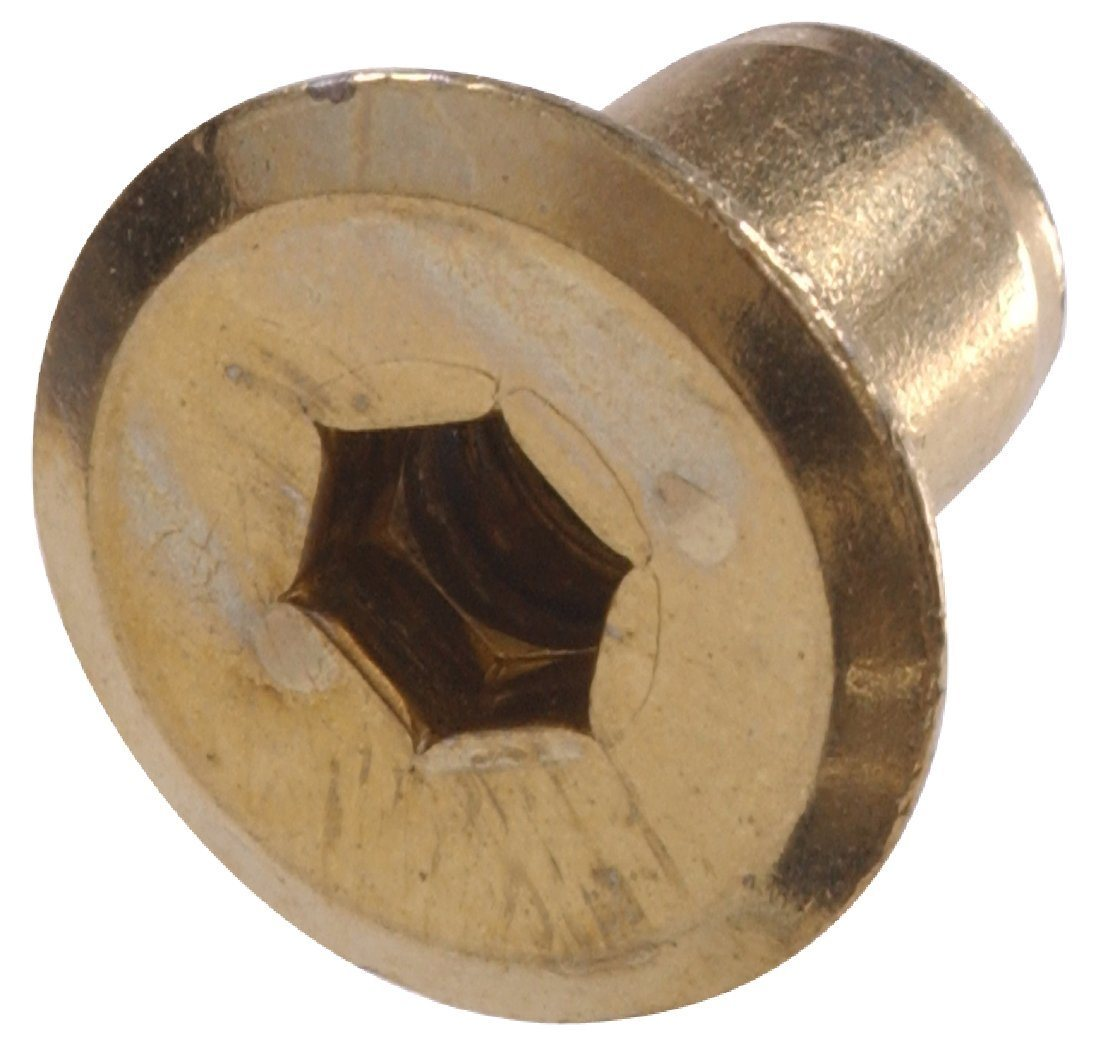 China High Quality Furniture Hex Socket Brass Connecting Cap Nut