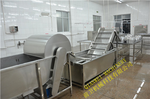 High Pressure Seaweed Washing Machine