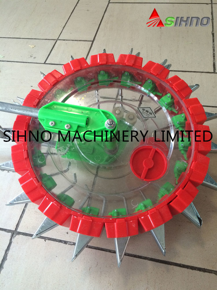 2016 New Model Hands Pushing Small Manual Grain and Beans Seeder for Peanut