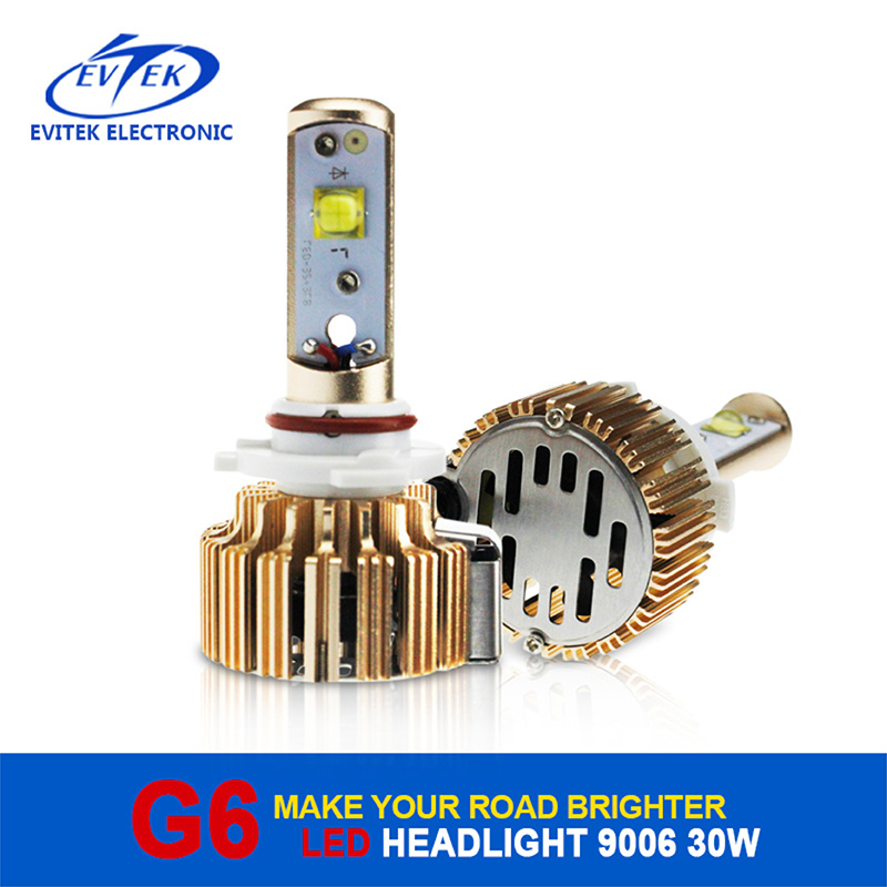 New Products 2016 Innovative Product 30W 3000lm 9006 Car LED Headlight