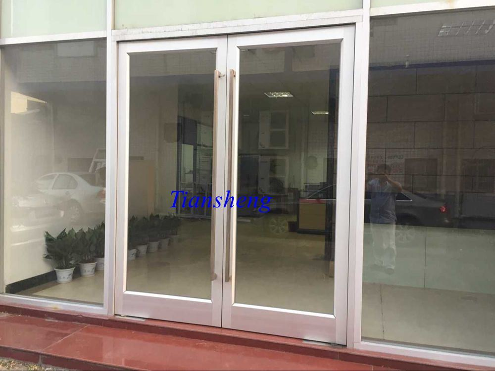 Aluminum Spring Door Floor Hinge Door for Commercial Building
