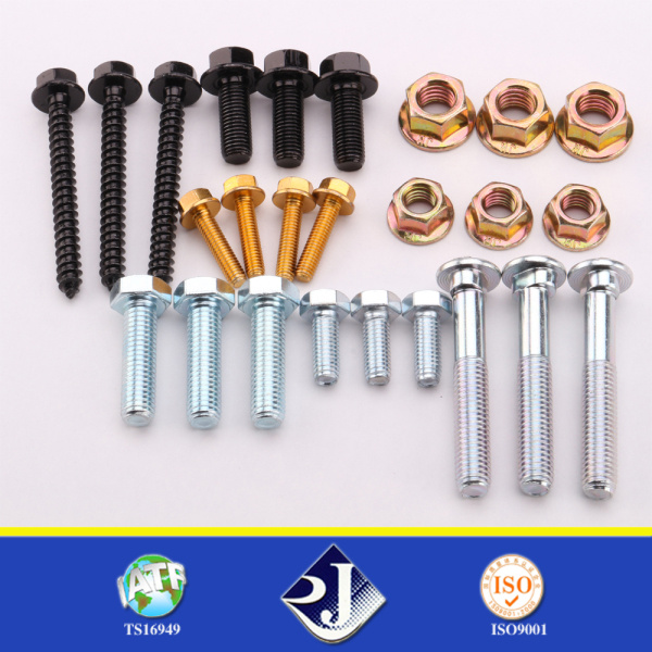 High Strength Galvanized Rail Bolt / Trac Bolt