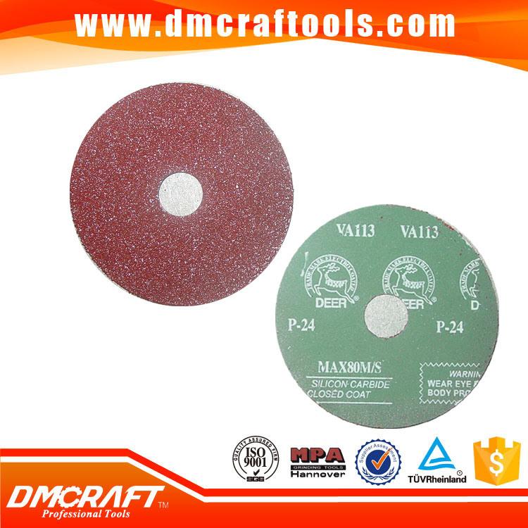 Resin Abrasive Disc Fiber Sanding Disc Fiber Disc