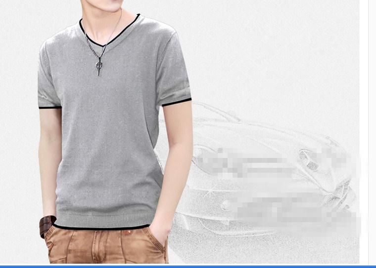 100% Cotton Fit Men′s T-Shirt Camisas Ropa Hombre