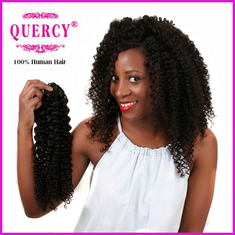 China Quercy Hair Wholesale Indian Remy 100 Unprocessed Human Extensions Natural Raw Curl