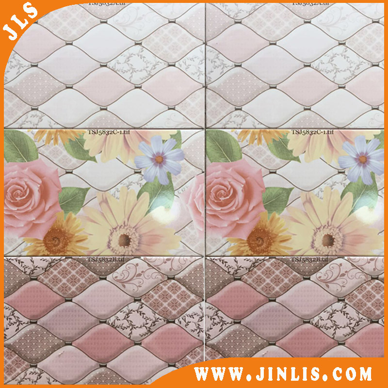 3D Digital Printing Living Room Ceramic Porcelain Wall Tile