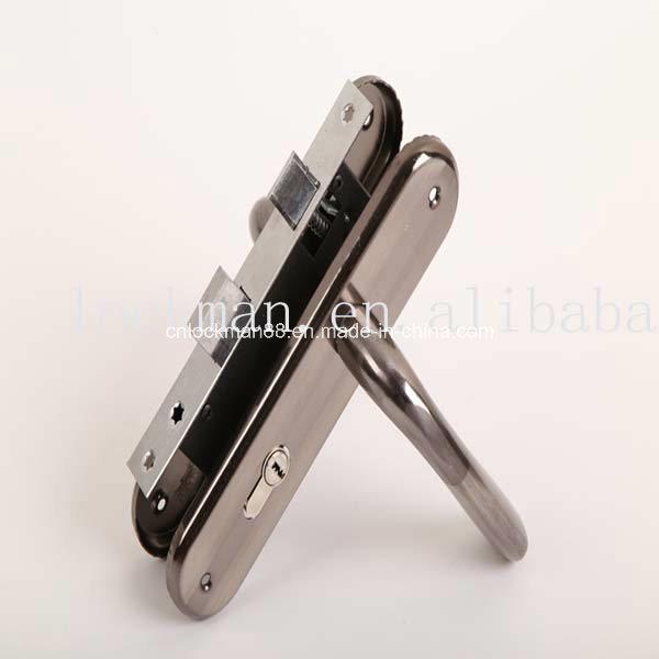 Aluminum Handle Iron Plate Door Lock (NO. 311-257)