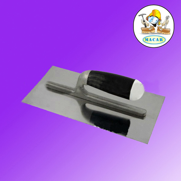 Stainless Steel Plastering Trowel with Plastic Handle