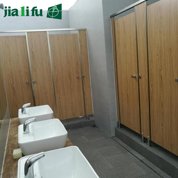 Jialifu Hot Sale Solid Phenolic Toilet Bathroom Cubicle