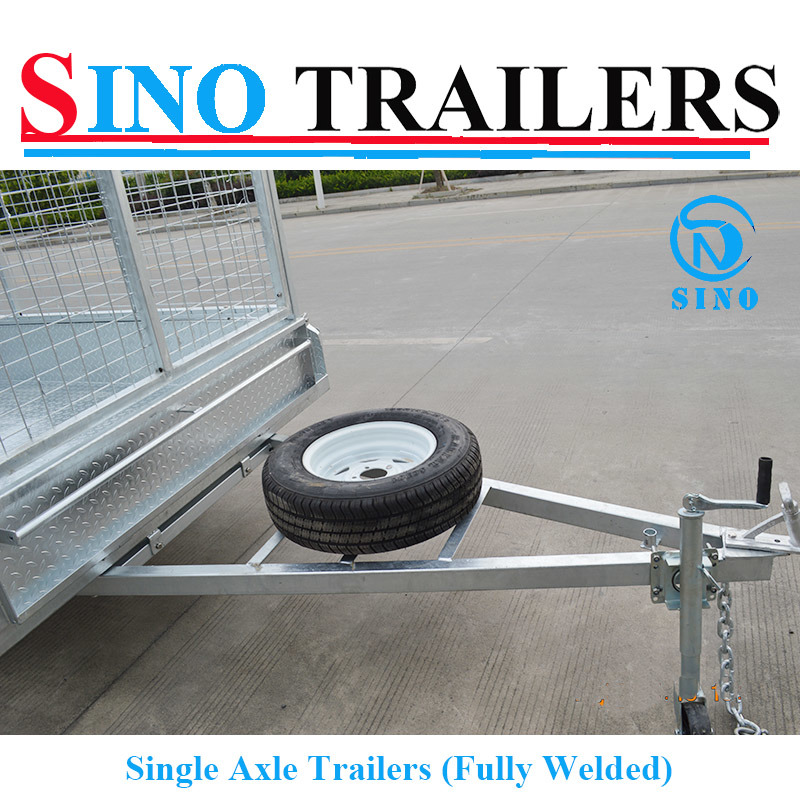 Fully Welded Single Axle Trailers